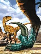 Illustrazione di Utahraptor