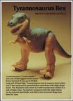 Dino Riders fact card Tyrannosaurus