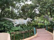 Dinoland Safari Tour Albertosaurus