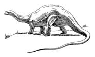 Dinosaur - brontosaurus (PSF)