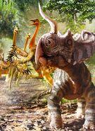 Centrosaurus Golden Book of Dinosaurs