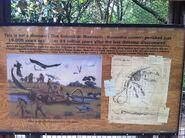 Dinoland mammoth sign
