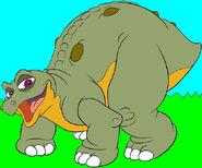 Spike the Stegosaurus