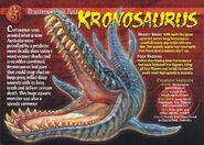 Kronosaurus front
