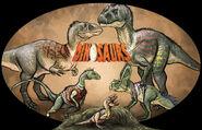 Sinclair family from dinosaurs by emilystepp-d9gkhok