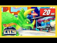 ULTIMATE DINO DEMOLITION - Hot Wheels City - @Hot Wheels