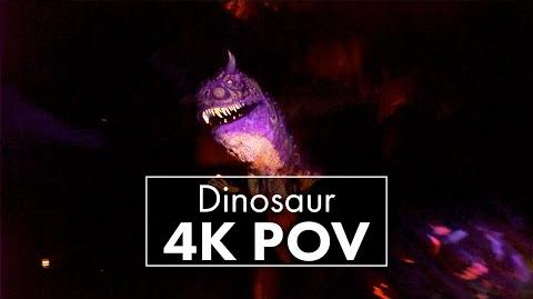 Dinosaur Animal Kingdom 4K POV