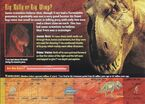 T-Rex Monsters of the Past Card 1 back