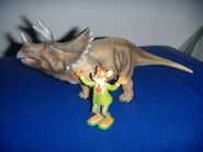 Geronimo Stilton e il triceratopo
