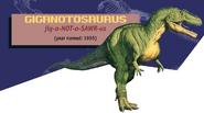 Jurassic Park Jurassic World Guide Giganotosaurus