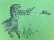 Camptosaurus William D. Berry