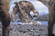 CBD Sarcosuchus et Macrogryphosaure
