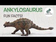 ANKYLOSAURUS FACTS! - Fun & Educational - For Kids - Best Dinosaur Facts