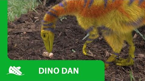 Dino Dan Compsognathus Promo