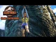 Escaping the Mosasaurus Pool - JURASSIC WORLD CAMP CRETACEOUS - NETFLIX