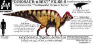 Dinosaur asset files corythosaurus by taliesaurus-dbnzirp