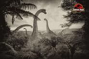 Jurassic Park brachiosaurus by tomzj1-d4r61ew