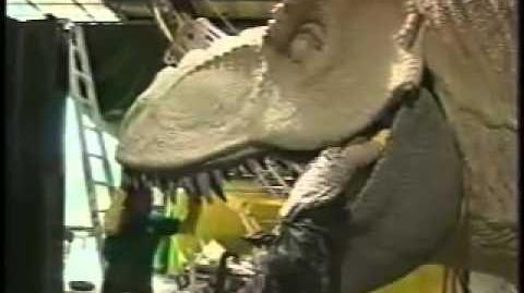 """""""Jurassic Park"""" ride secrets with Ryan Seacrest, Steven Spielberg & Eddie Newquist at"""
