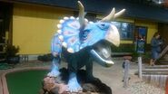 Old pro golf triceratops