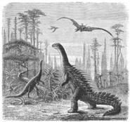 Dinosaurs Sci Am 1884