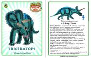 Dinosaur train triceratops card revised by vespisaurus-db7hidh