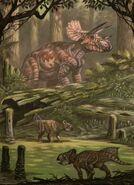 Triceratops horribus leptoceratops gracilis by abelov2014-da328b1