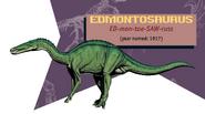 Jurassic Park Jurassic World Guide Edmontosaurus