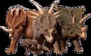 Steve Parker Ceratopsians.png