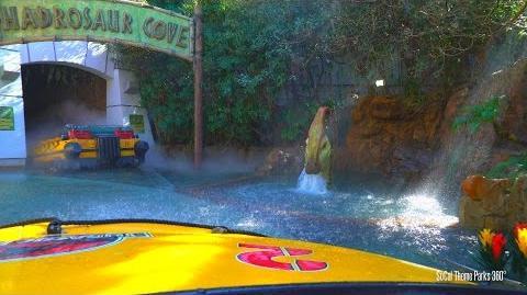 4K Jurassic Park the Ride - Universal Studios Hollywood