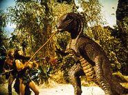 One-million-years-bc Allosaurus