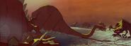 Dino mural 2