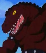 Haxx the velociraptor
