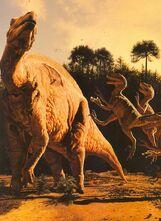 Deinonychus-vs -Tenontosaurus-727x1000