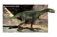 Life restoration of a Dryosaurus