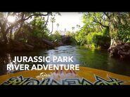 OFFICIAL RIDE POV- Jurassic Park River Adventure