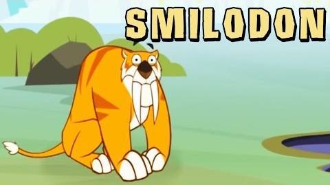 I'm a Dinosaur - Smilodon HooplaKidz TV