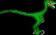 Compy compsognathus vector 1 by smcho1014 dc01qno