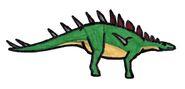 Kentrosaurus 005