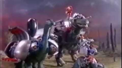 1987 Dino-Riders Tyrannosaurus Rex Toy Commercial by Tyco.