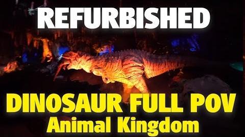 NEW Refurbished Dinosaur Animal Kingdom 4K POV