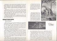 RARE Vintage 1957 World Dinosaurs Smithsonian Book Paleontology Natural History 7