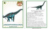 Dinosaur train argentinosaurus card revised by vespisaurus-db7a223