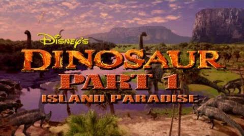 (PS1) Disney's Dinosaur - Part 1 - Island Paradise