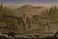 Argentinosaurus giganotosaurus irritator by abelov2014-d9mz6c2