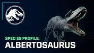Species Profile – Albertosaurus