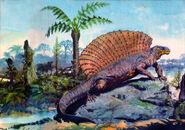 Edaphosaurus by zdenek burian
