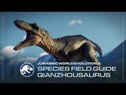 Species Field Guide - Qianzhousaurus - Jurassic World Evolution 2