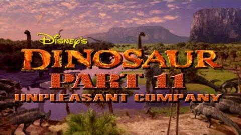 (PS1) Disney's Dinosaur - Part 11 - Unpleasent Company