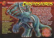 Chasmosaurus front
