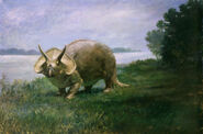 Knight Triceratops